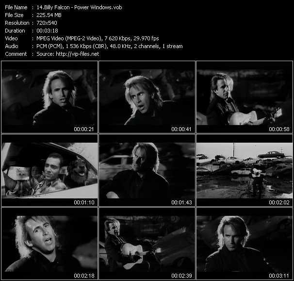 Billy Falcon video screenshot