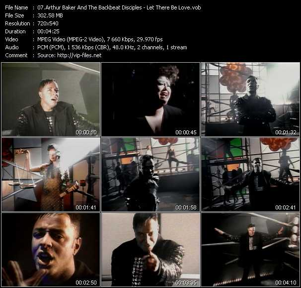 Arthur Baker And The Backbeat Disciples video screenshot