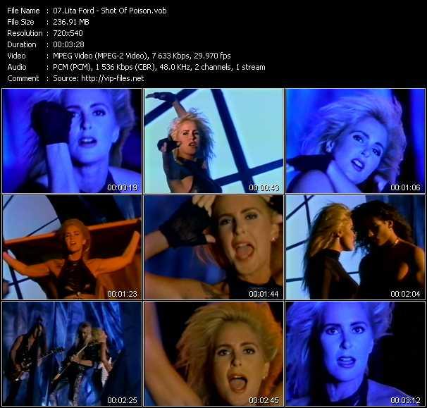 Lita Ford video screenshot