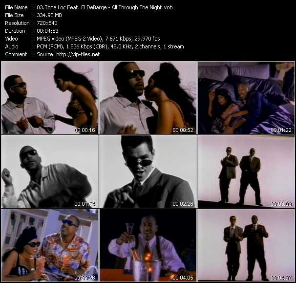 Tone Loc Feat. El DeBarge video screenshot