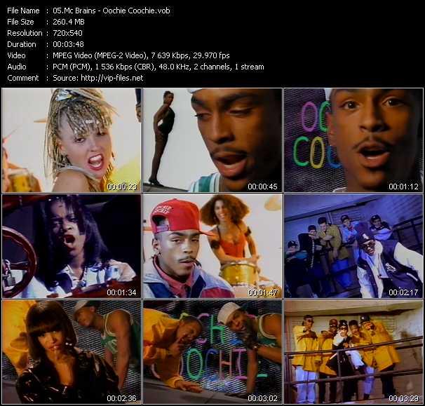 Mc Brains video screenshot