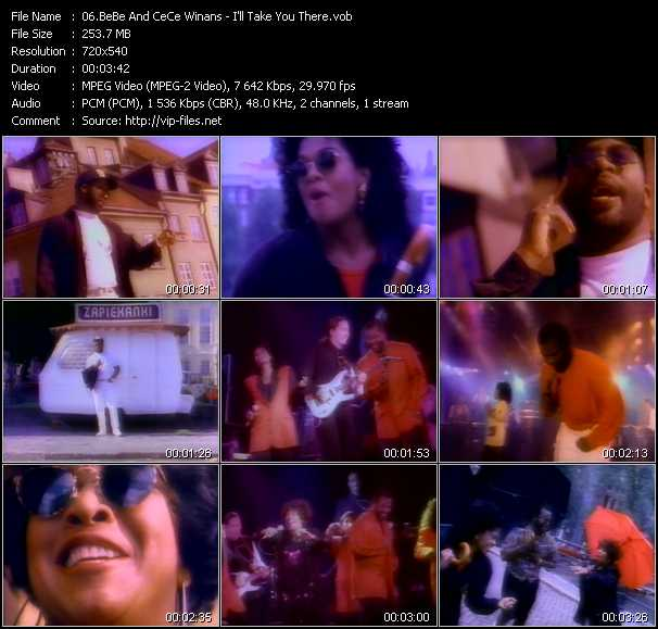 BeBe And CeCe Winans video screenshot
