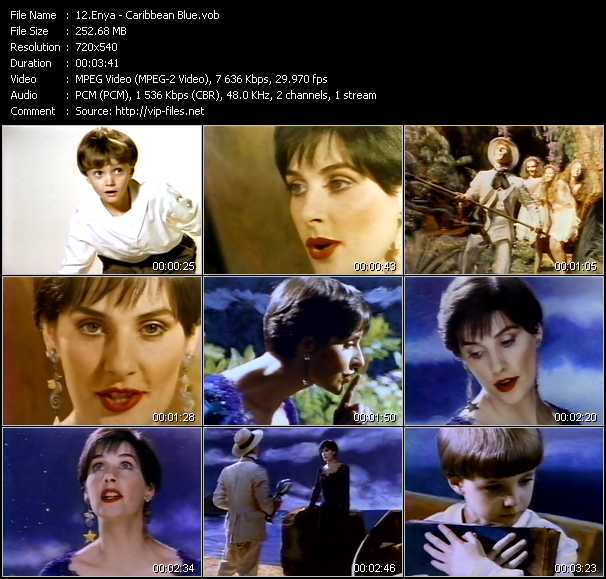 Enya video screenshot