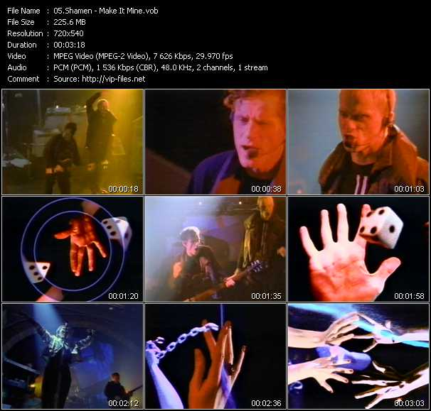 Shamen video screenshot