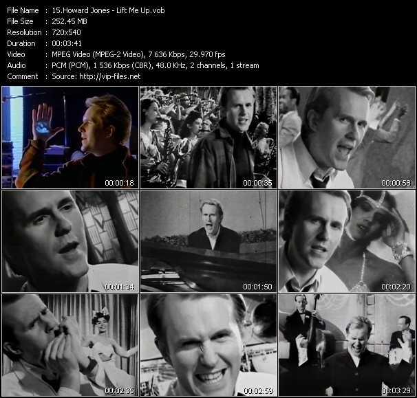 Howard Jones video screenshot
