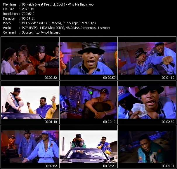 Keith Sweat Feat. LL Cool J video screenshot