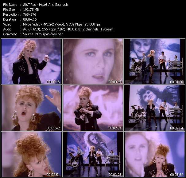 T'Pau video screenshot