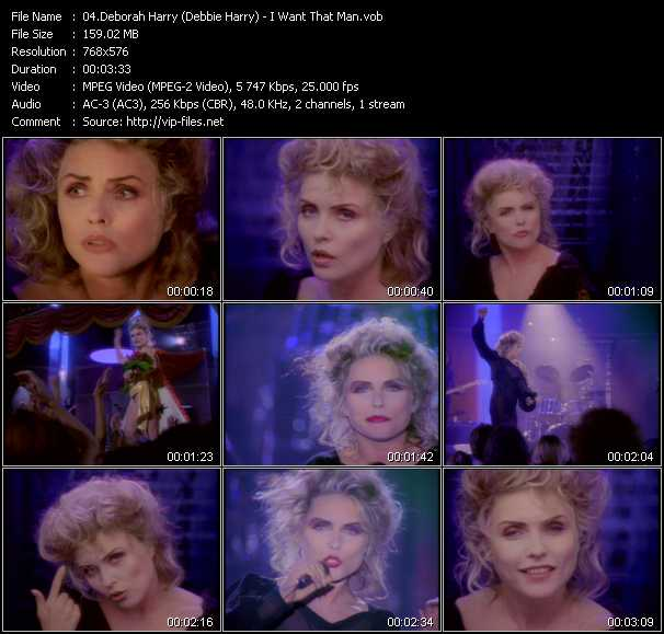 Deborah Harry (Debbie Harry) video screenshot