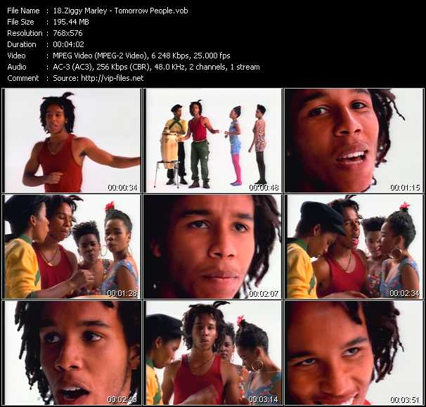 Ziggy Marley video screenshot