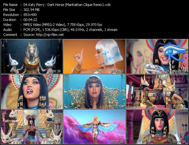 Katy Perry video screenshot
