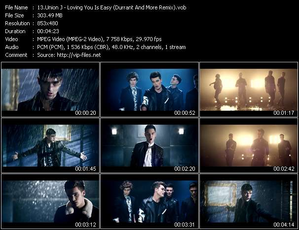 Union J video screenshot