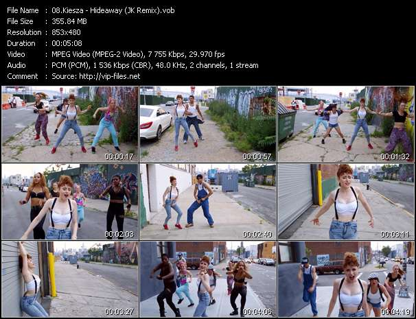 Kiesza video screenshot