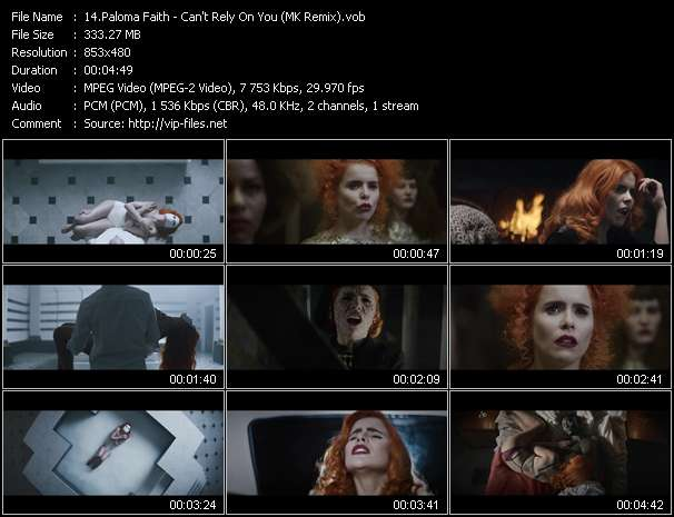 Paloma Faith video screenshot