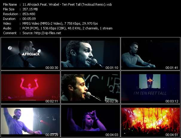 Afrojack Feat. Wrabel video screenshot