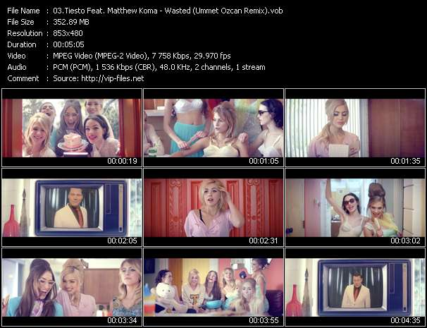video Wasted (Ummet Ozcan Remix) screen