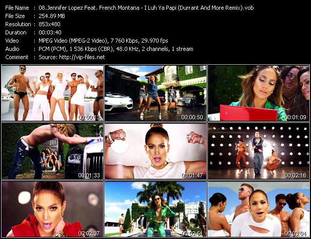 Jennifer Lopez Feat. French Montana video screenshot
