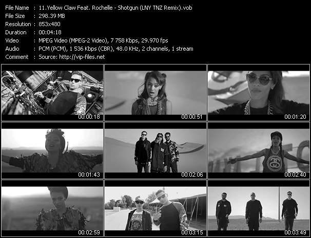 Yellow Claw Feat. Rochelle video screenshot