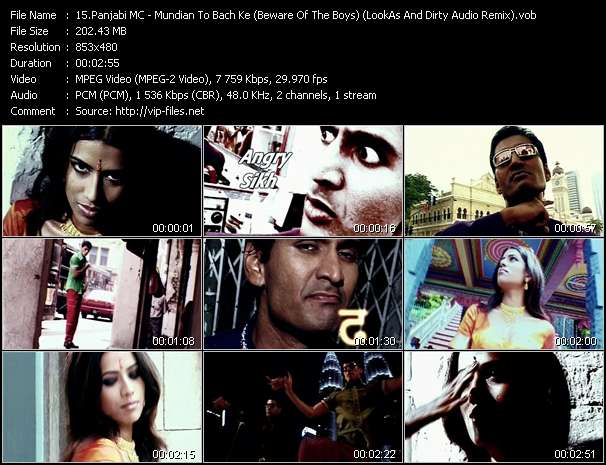 Panjabi MC video screenshot