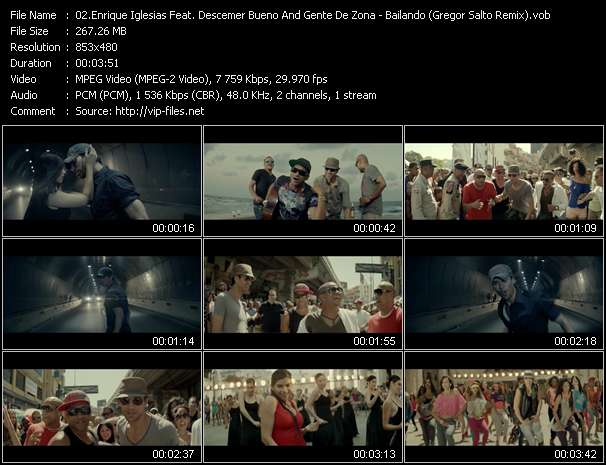 Enrique Iglesias Feat. Descemer Bueno And Gente De Zona video screenshot