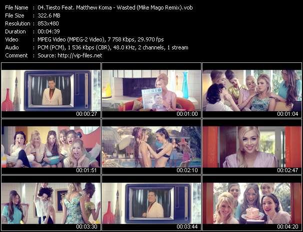 Tiesto Feat. Matthew Koma video screenshot