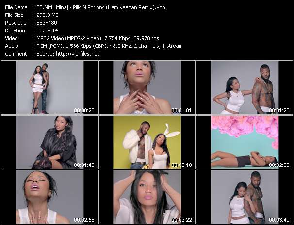 Nicki Minaj video screenshot