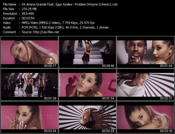 Ariana Grande Feat. Iggy Azalea video screenshot