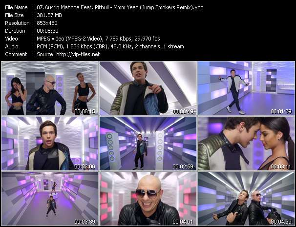 Austin Mahone Feat. Pitbull video screenshot
