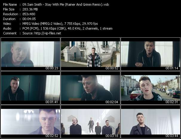 Sam Smith video screenshot