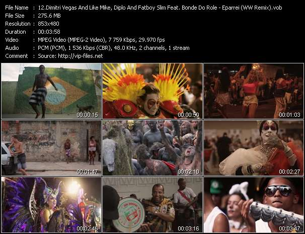 Dimitri Vegas And Like Mike, Diplo And Fatboy Slim Feat. Bonde Do Role And Pin video screenshot