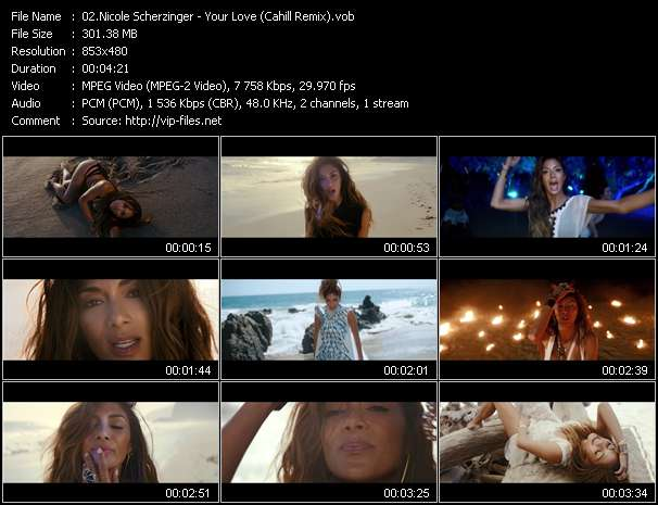 Nicole Scherzinger video screenshot