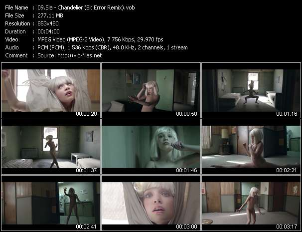 Sia video screenshot