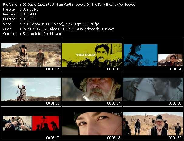 video Lovers On The Sun (Showtek Remix) screen