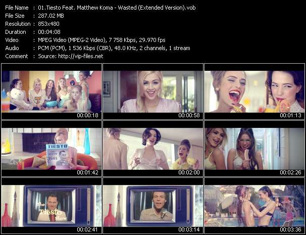 Tiesto Feat. Matthew Koma video screenshot
