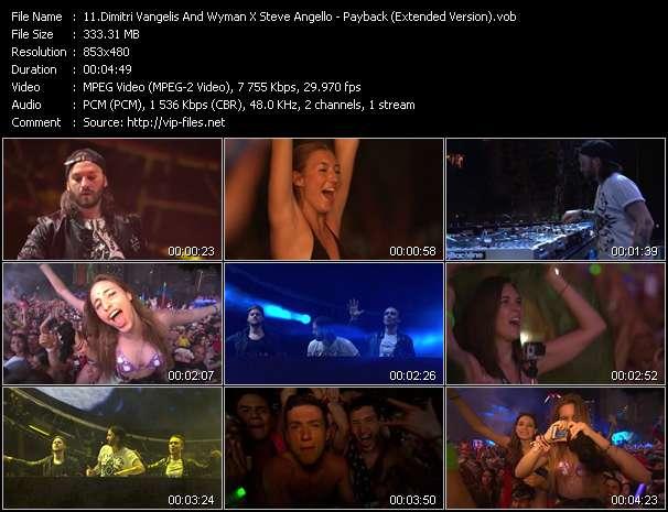 Dimitri Vangelis And Wyman X Steve Angello video screenshot