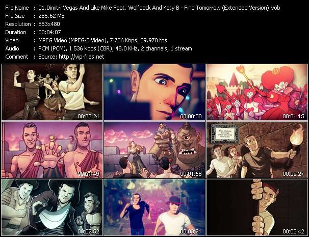 Dimitri Vegas And Like Mike Feat. Wolfpack And Katy B video screenshot