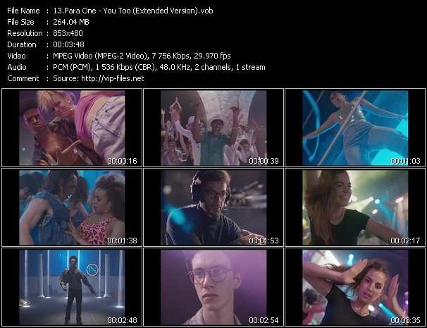 Para One video screenshot