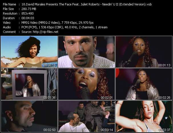 David Morales Presents The Face Feat. Juliet Roberts video screenshot