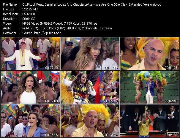 Pitbull Feat. Jennifer Lopez And Claudia Leitte video screenshot