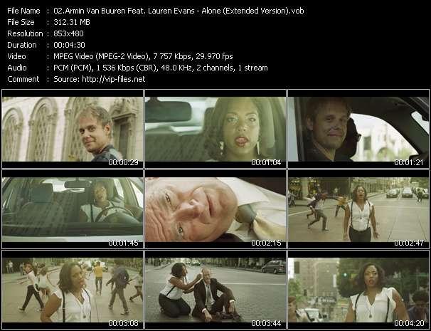Armin Van Buuren Feat. Lauren Evans video screenshot