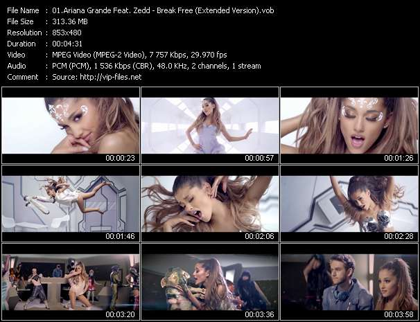 Ariana Grande Feat. Zedd video screenshot