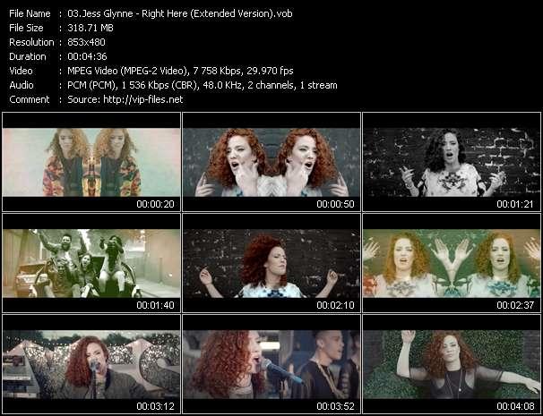 Jess Glynne video screenshot