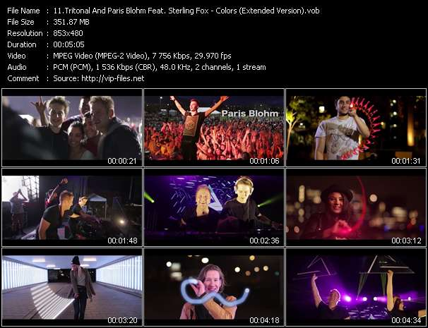 Tritonal And Paris Blohm Feat. Sterling Fox video screenshot