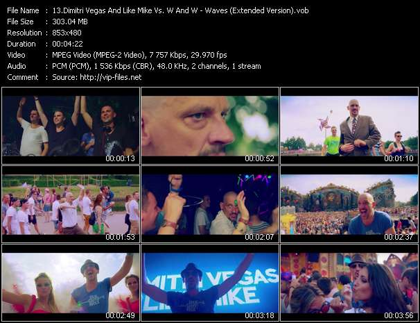 Dimitri Vegas And Like Mike Vs. W And W video screenshot