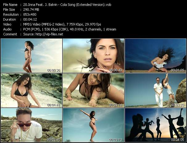 Inna Feat. J. Balvin video screenshot