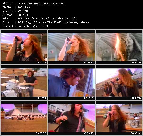 Screaming Trees video screenshot