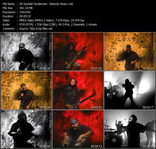 Suicidal Tendencies video screenshot
