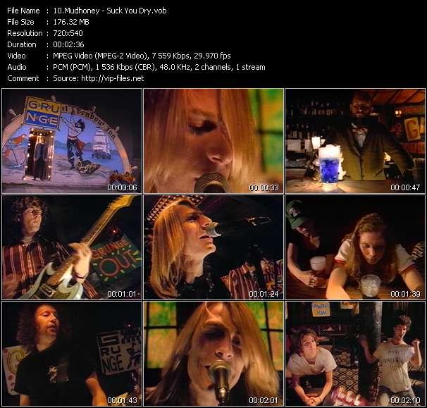 Mudhoney video screenshot