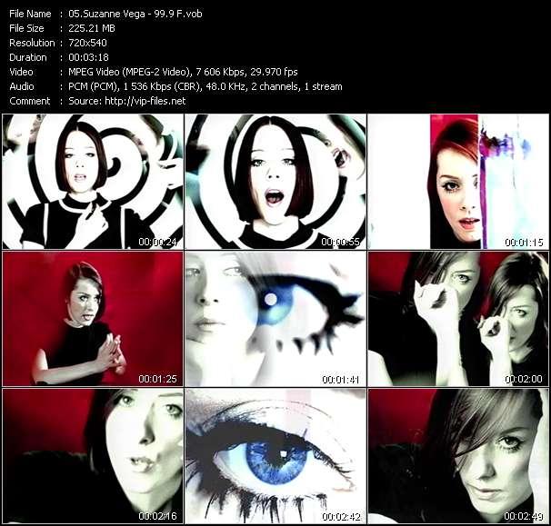 Suzanne Vega video screenshot