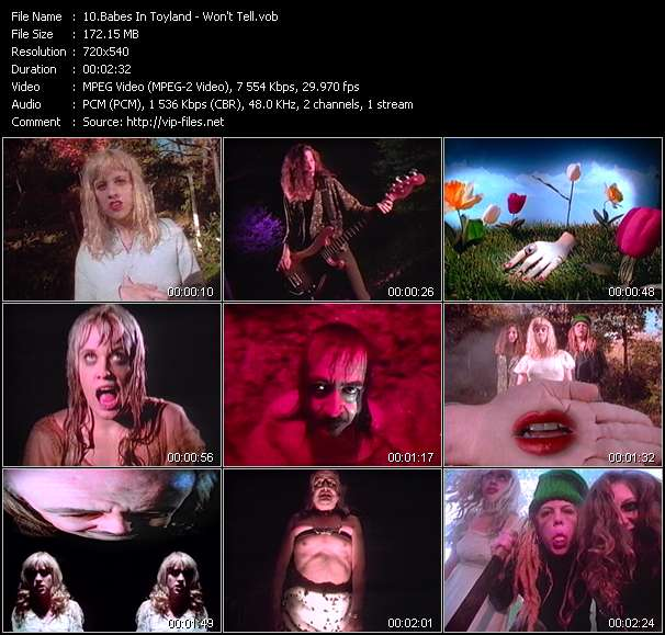 Babes In Toyland video screenshot