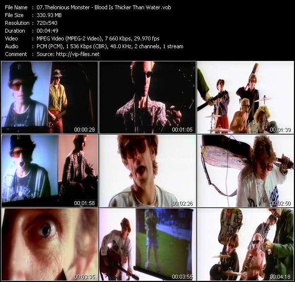 Thelonious Monster video screenshot